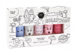 'Hollywood' set of 5 - nailmatic® kids - water based nail polish